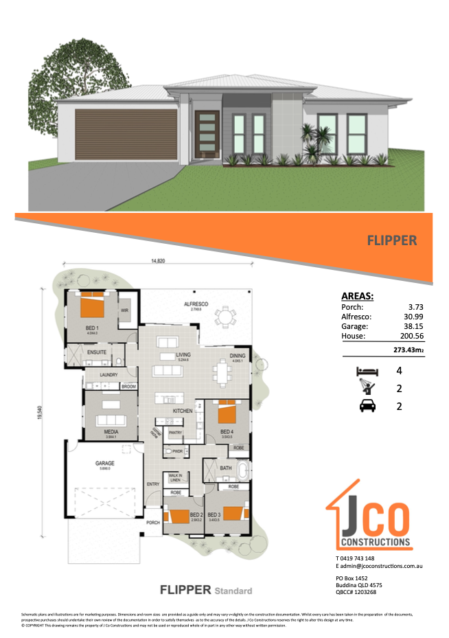 House Plans - JCO Constructions